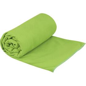 Sea to Summit Drylite Handdoek Antibacterieel L, groen